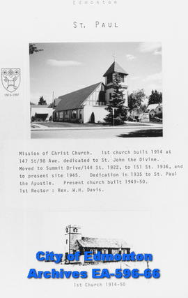 St. Paul's Anglican Church Poster