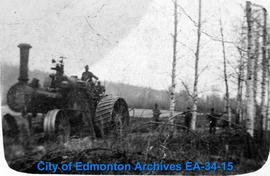 Logging with a Steam Tractor