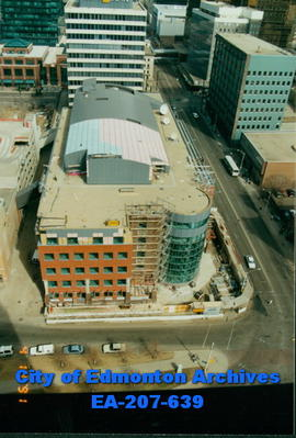 Edmonton Journal Building - construction