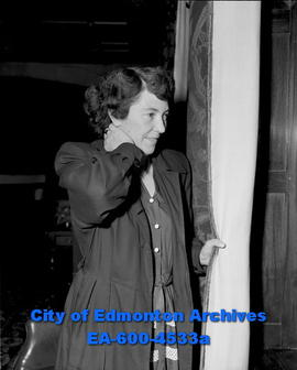 Etta Dann: Last captain of the Edmonton Grads.