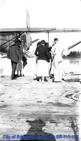Edmonton Grads At 'Airport' - South Cooking Lake