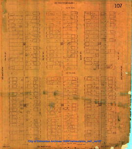 1925 Fire Insurance Plan Volume 1, No. 107