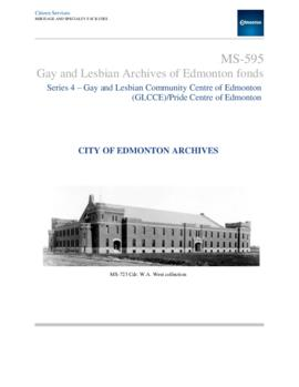 Gay and Lesbian Community Centre of Edmonton (GLCCE) / Pride Centre of Edmonton