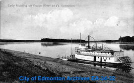 Early Morning on Peace River at Fort Vermilion