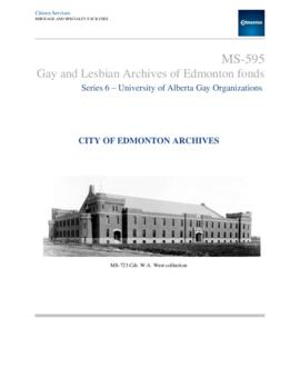 University of Alberta Gay Organizations