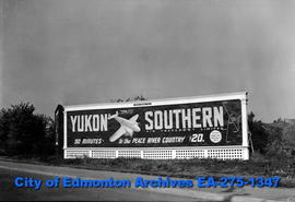 Sign - Yukon Southern Air Transport
