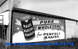 Sign - Magic Baking Powder