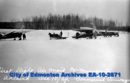 First Air Mail Flight-McMurray to Akiavik