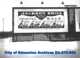 Sign - Jackson Brothers Jewelers