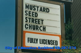 Mustard Seed Church sign