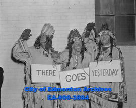 Junior Chamber of Commerce Dressed as Indians