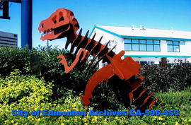 Metalsaurus, by GT Metal Products