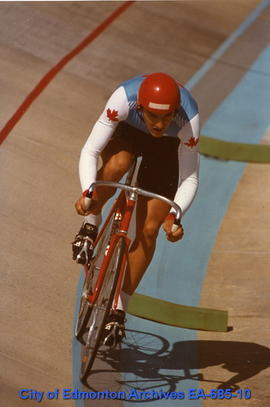 Universiade '83 - Canada's Garry Altwasser
