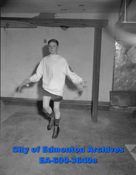 Buddy MacDonald, Edmonton Boys' Boxing Club star.