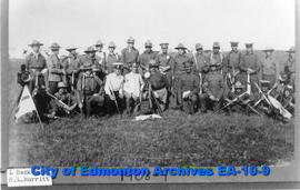 19th Alberta Dragoons, Sarcee Camp, Calgary