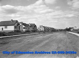 Building shots for advertising.  Homes on 136 Street in Edmonton.