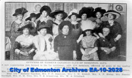 Women's Canadian Club Officers