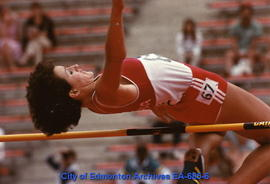 Universiade '83 - Canada's Denise Fillion