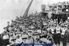 51st Battalion, C.E.F. Leaving for Europe