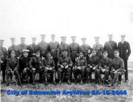 101st Regiment Officers-Calgary