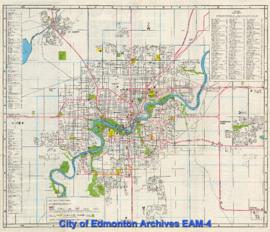 Edmonton, Alberta: Visitor Map and Guide
