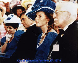 George Stout with The Duke and Duchess of York