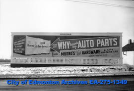 Sign - Munro's Hardware