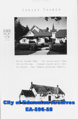Anglican Parish of  Christ Church  Poster