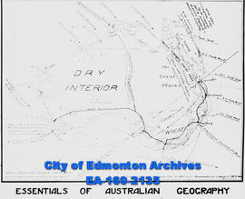 A map of the Essentials of Australia Geography