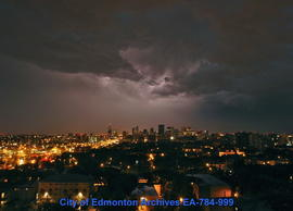 Storm Clouds At Night - Image 1 of 3