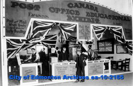 Post Office Display-Edmonton Exhibition
