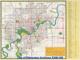Edmonton, Canada: Official Visitor Map