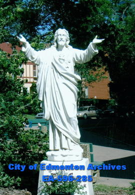 Jesus with open arms