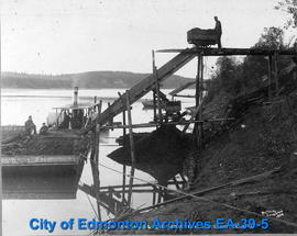 "Coal Mining on the Saskatchewan (River) Near Edmonton, ""Milners"""