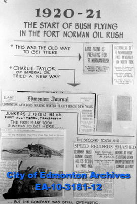 Bush Flying in Fort Norman Oil Rush