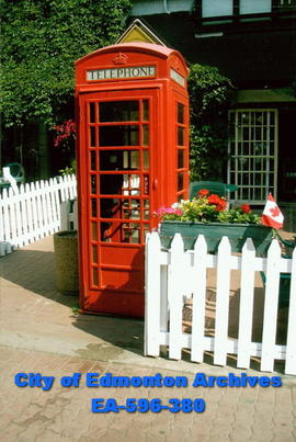 British Call Box