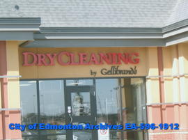 Drycleaning by Gellibrand