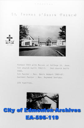 St. Thomas D'Aquin Catholic Church Poster