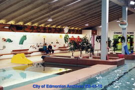 A.C.T. Recreation Centre pool interior facing southeast prior to renovation