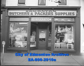 Edmonton Butchers and Packers store front.