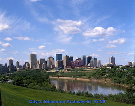 Edmonton Downtown Skyline