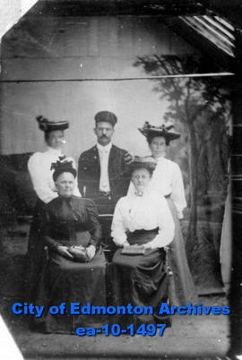 Tintype of a Group