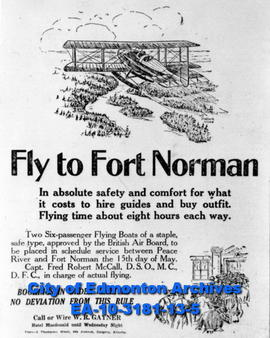 Fly to Fort Norman