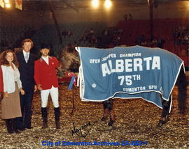 Open Jumper Champion Alberta 75th