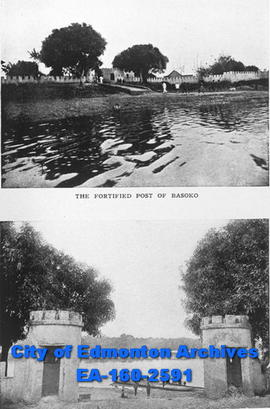 Fortified port of Basoko in Zaire.