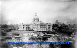 Parliament Buildings and Fort Edmonton