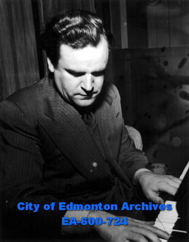 Alec Templeton, pianist and comedian, appearing in recital at McDougall United Church in the Cele...