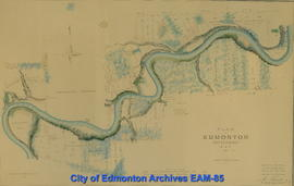 Plan of Edmonton Settlement, N.W.T.