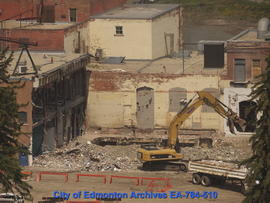 Demolition of Molson's