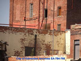 Demolition of Molson's Building